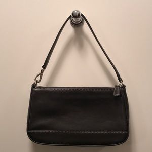 Full leather Coach purse, small